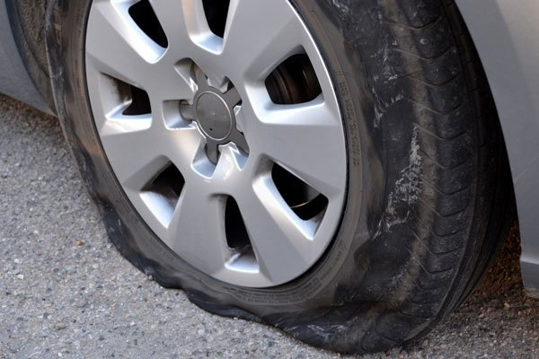 depannage pneu crevé